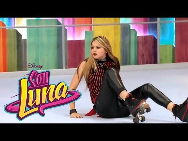 Sou Luna 3 - Emilia cai na pista e luna humilha ela (Cap 26) HD