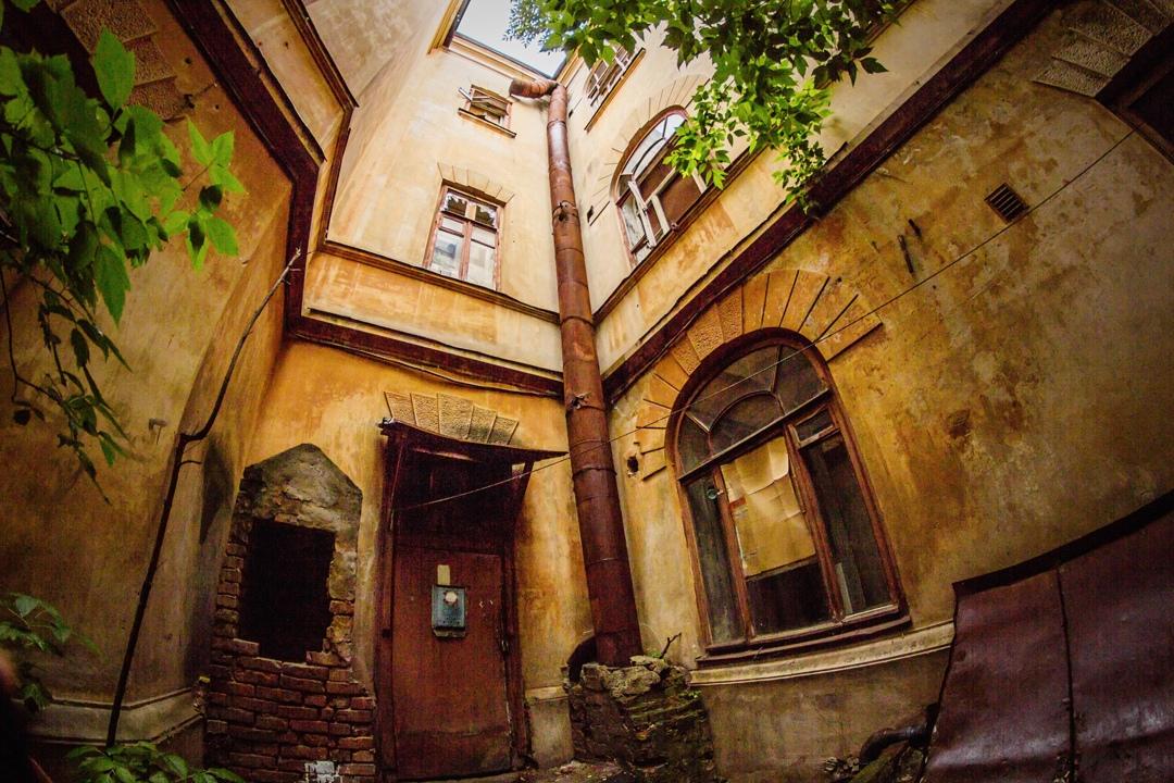 Брошенный дом Даниловой