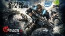 Gears of War 4 i7 7700 GTX 1060 6GB STRIX 16GB RAM ultra settings gameplay test