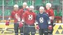 2019 07 08 команда Неман приступила к тренировкам на льду