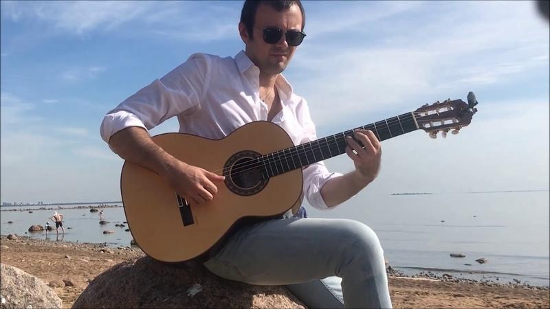 Improvisation around Santanas Europa - flamenco guitar