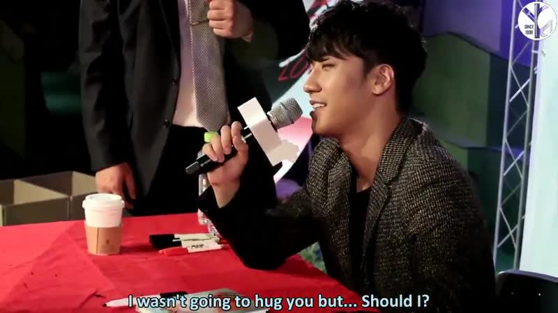 Seungris interactions with fans are so cute