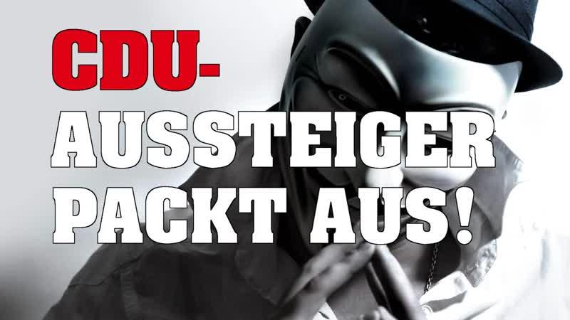 CDU-Aussteiger packt aus ► Es gab niemals eine Flüchtlingskrise!