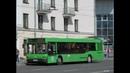 Автобус Минска МАЗ 103 гос № АЕ 3554 7 марш 46 16 09 2018