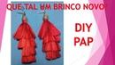 How to Make / DIY / Como Fazer COMO FAZER LINDO PAR DE BRINCOS EM CETIM. SUPER NA MODA!