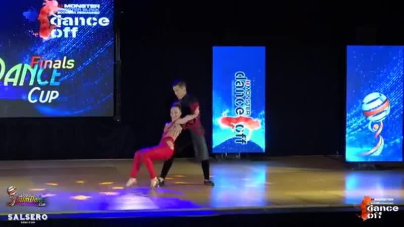 World Latin Dance Cup 2018. Final. Dmitry Svetlana
