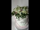 Торт Шляпная коробка с цветами