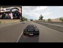 [Gtoofast] Forza Horizon 3 Driving Like A BOSS (Steering Wheel) Lamborghini Sesto Elemento No HUD Gameplay
