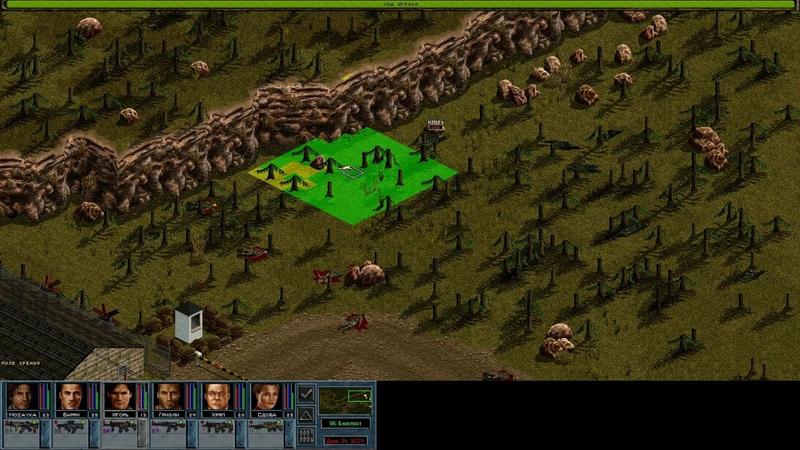 Jagged Alliance 2 Night Ops v1.40.битва на блокпосту.тестируем пушки и новую настройку