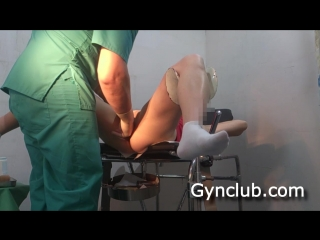 Gynclub: доктор осматривает пациентку - ольга (часть 2) – [medical fetish, gyno exam, anal checkup, roley play]