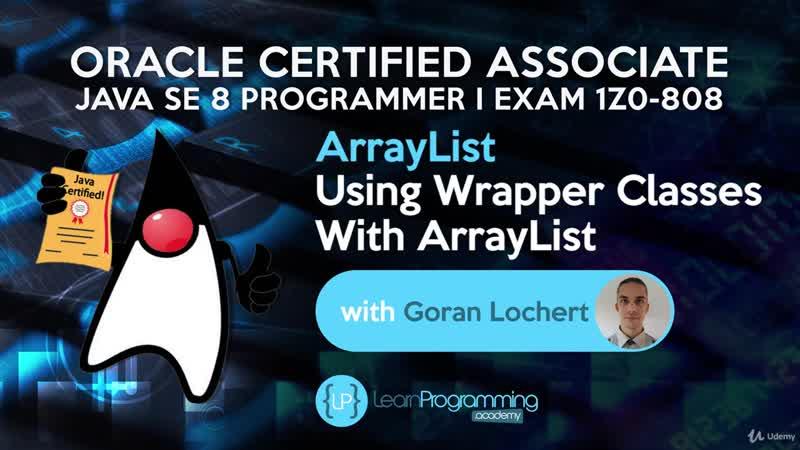 Урок 71. Using Wrapper Classes With ArrayList
