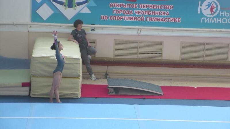 Опорный прыжок, третий взрослы