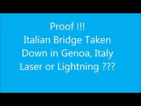 Proof of Italian Bridge Takedown ~ Laser or Lightning?
