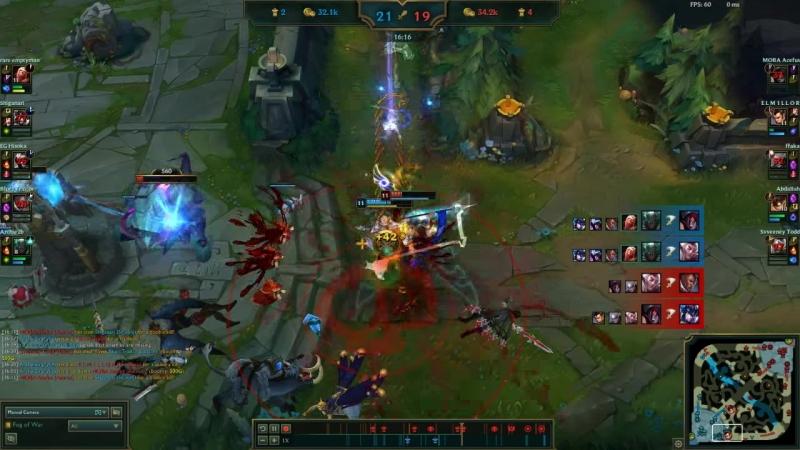 Quadra kill Pyke