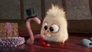 Короткий смешной мультик про цыплёнка и червячка