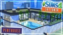 Skytower Luxury Penthouse The Sims 4 Speed Build Furnished NO CC