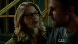 Arrow 6x08. Oliver and Felicity talking about why she said no
