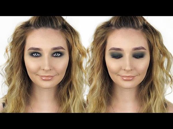 Супер вечерний макияж I Зеленый матовый смоки I Green Smokey eyes makeup