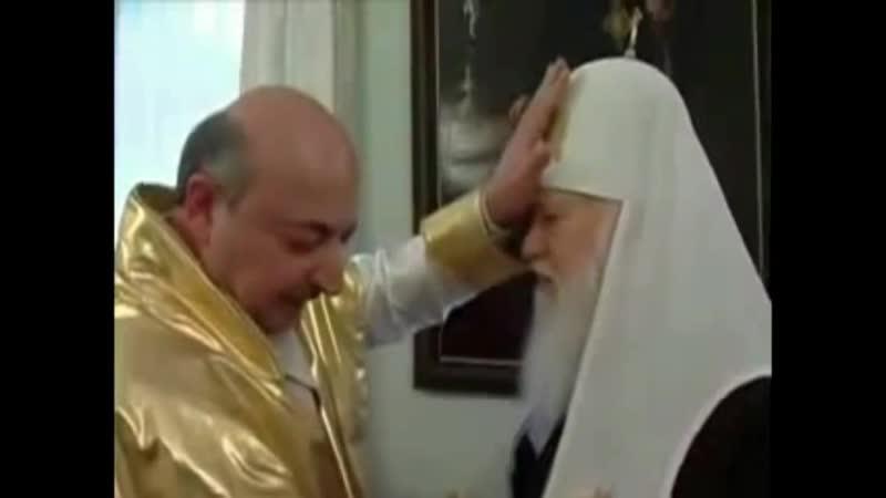 Гопник Днепропетровский Гагик Авакян благословляет Филарета Денисенко