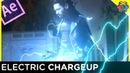 ⚡Thor Style Electric Charging Tutorial - After Effects⚡