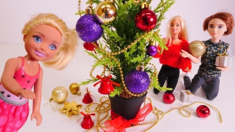 Juegos de Barbie muñecas. Vacaciones del invierno. Vídeos para niñas.
