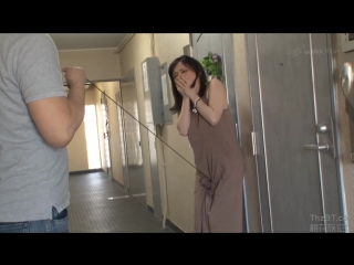 nhdta-996_part1 An Convulsive Woman Who Can Not Tolerate The  Stimulation Leaded By A Fixed Vibe Through Maxi Dress 2