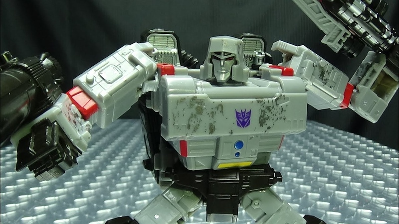 Siege Voyager MEGATRON: EmGo's Transformers Reviews N' Stuff