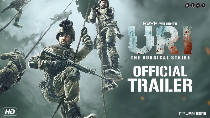 URI Official Trailer Vicky Kaushal Yami Gautam Paresh Rawal Aditya Dhar 11th Jan 2019