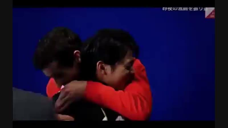 Yuzuru Hanyu and Javier Fernandez vine