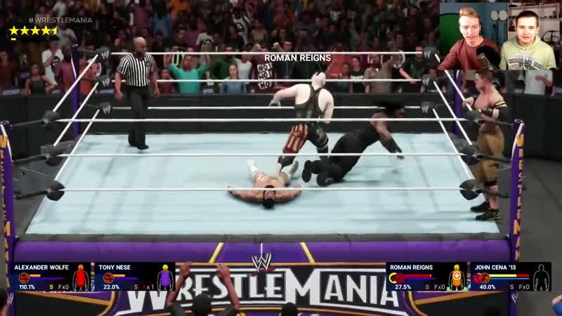 [Легендарный Киллер] WWE 2K19 БИТВА ТИТАНОВ - КАЛЯН ДЕЛАЕТ САСАИ 🔥🔥🔥