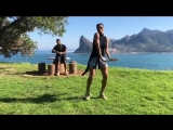 Ciara on Instagram_ When you and Bae #DoTheShiggy On Top of Cape Town on ur