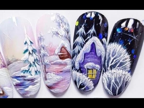 20 Winter New Nail Art Designs 2019 | Amazing Nail Art Tutorial 27 | BeautyIdeas Nail Art