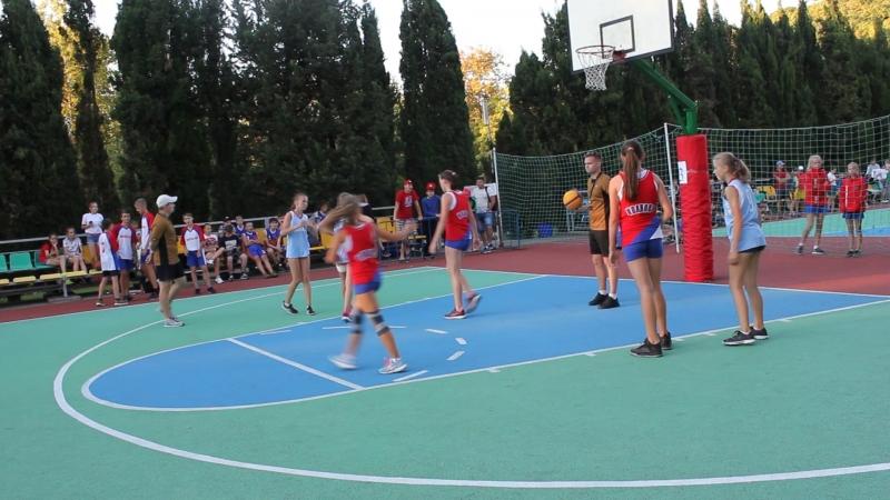 баскетбол в Орлёнке