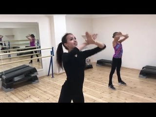 Alina Zagitova dance practice 2018 8 29