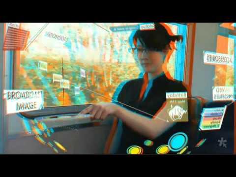 Keiichi Matsuda - Augmented City [in 3D][w/ Sound]