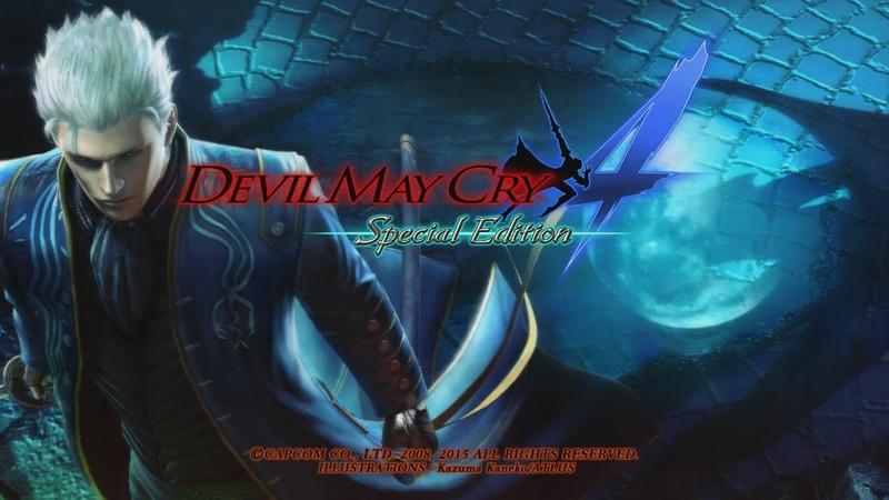 Devil May Cry 4 SE All Bosses -Vergil-