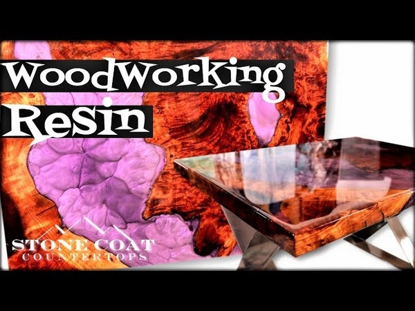 Woodworking With Resin