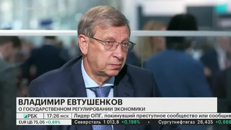 Владимир Евтушенков — РБК: «Не хочется быть в числе съеденных»