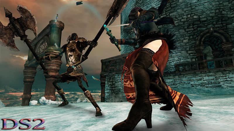 Dark Souls 2 кооператив с корешами