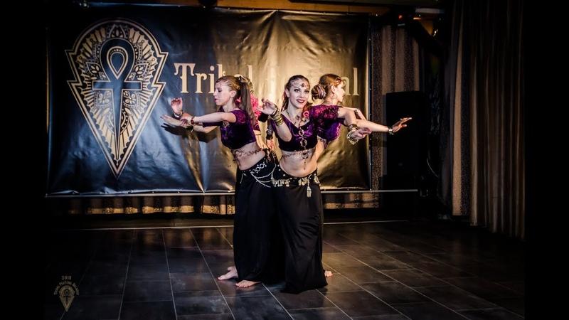 Elizabeth, Liu, Natalia, Tatyana @ Tribal Festival in Belarus 2018