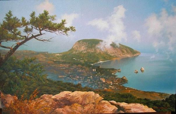 Легенда о Медведь-горе. Аю-даг (Медведь-гора) находится на Южном берегу Крыма, к востоку от Гурзуфа. Высота горы составляет 565 метров, длина 2,5 километра, возраст ~ 161 млн. лет. По