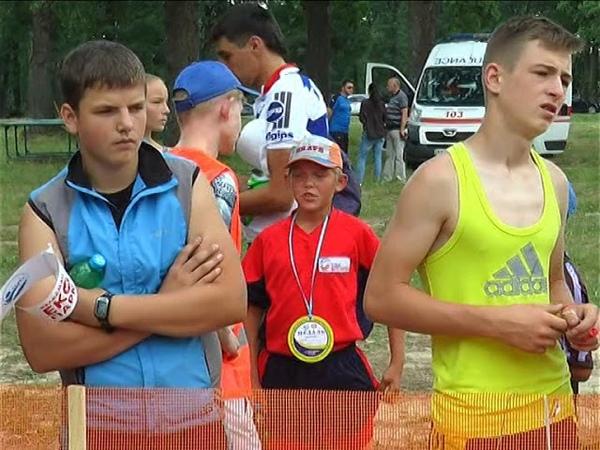 Первый юношеский чемпионат Харьковской области по биатлону. Июнь 2018 года