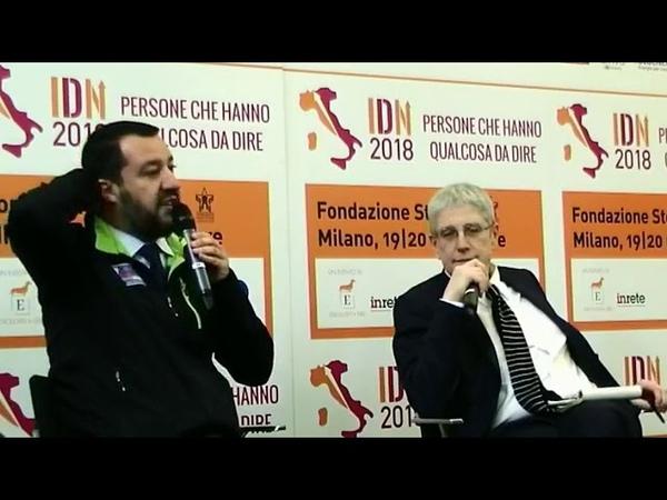 MATTEO SALVINI in diretta da MILANO (19.11.2018)