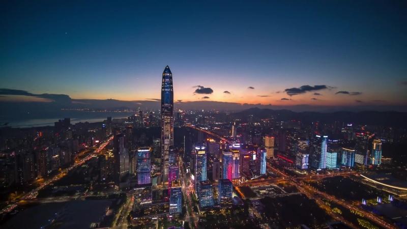 Поглед на Шенџен из ваздуха (3)