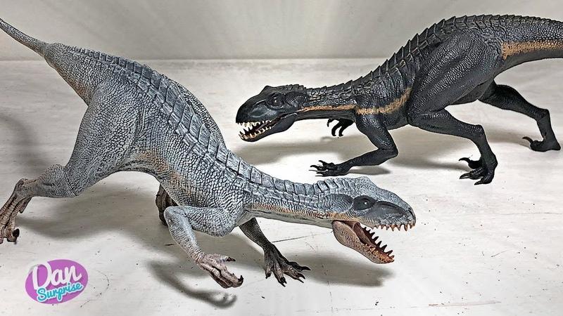 White Indoraptor! 2 New Indoraptor Inspired Figures! Berserker Raptor Nightmare Apostles!