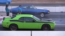Old vs New Muscle Cars Drag Racing