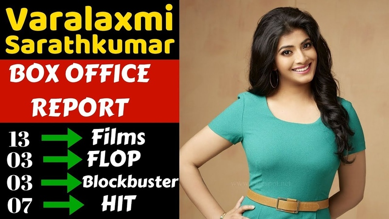 Varalaxmi Sarathkumar Box Office Collection Analysis Hit and Flop Movies List