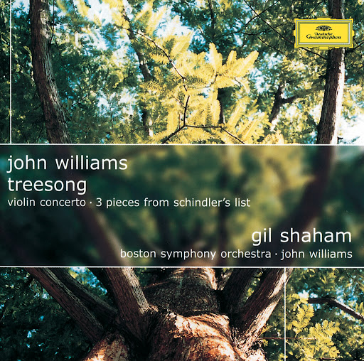 John Williams альбом John Williams: TreeSong; Violin Concerto; 3 Pieces from Schindler's List