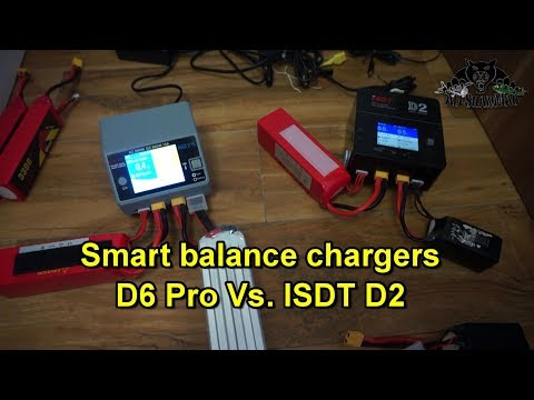 B6 Pro Dual Channel 200W 15A Smart Balance Charger discharger
