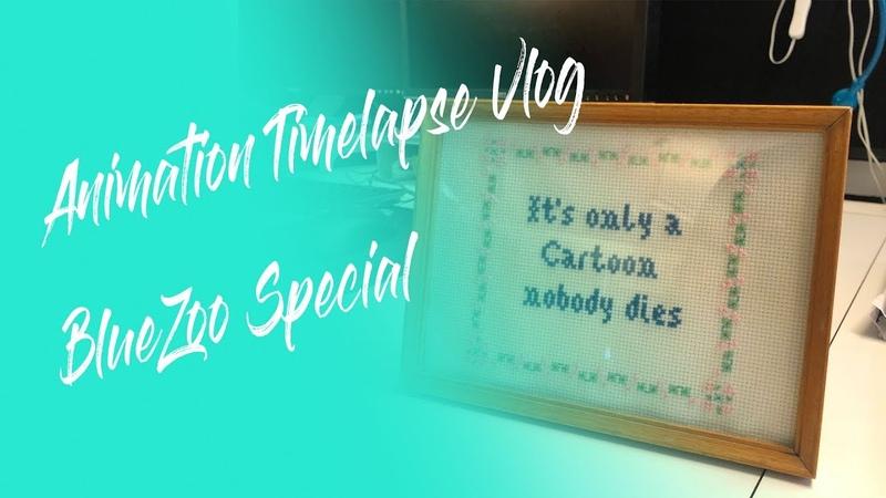 Animation Timelapse Vlog - It's Just a Cartoon, Nobody Dies